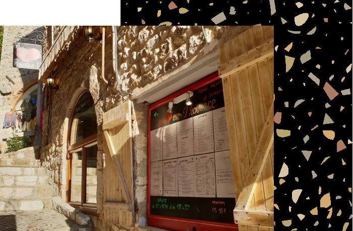 Un coeur en Provence - Restaurant Saint-Paul de Vence